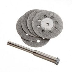 22mm 5pcs Carbon Steel Mini Diamond Cutting Discs Tools -- Learn more by visiting the image link.