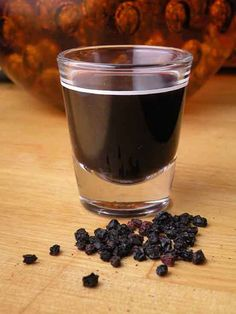 How to make elderberry syrup.