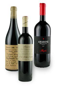 This gift selection contains: n. 1 Amarone Dal Forno - n. 1 Amarone Quintarelli - n. 1 Amarone Allegrini, The best Italian Wines. www.dolceterra.com #Amarone #Valpollicella