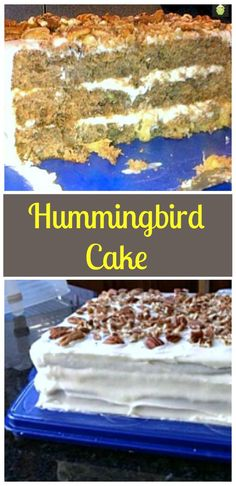 Hummingbird Cake A very popular soft and moist cake with great flavors! #cake #hummingbird #baking