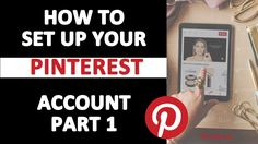 How to Set Up Your Pinterest Account Part 1.  How can you make your Pinterest account stand out so you can sell your products, goods, and services on Pinterest? You want to get a share of Pinterest's social traffic and get the attention of its high converting followers!  There are many things to adjust on your account to get your products noticed! They are simple and free to adjust. However, many of them are overlooked or out-of-date.