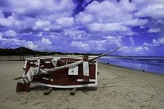 The red boat - Photo taken on my vacation in Natal RN Brazil