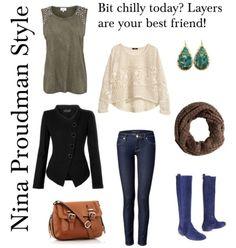 Nina Proudman Fashion Style Offspring Inspiration via jessicaacoates on polyvore