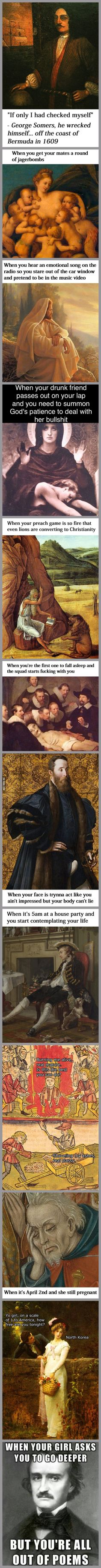 Classical Art Memes Latest (Part-10)