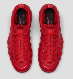 "Nike Air Foamposite Pro ""Gym Red"" (Detailed Pics & Release Info)"