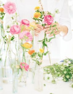 Designing your own floral arrangement may seem daunting, but with a little practice (and the tips from my new book, Celebrate), you can easily become your own florist. XO Lauren