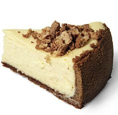 Amaretto Cheesecake with amaretto cookies on top its soooo yummy. Yoy have to like amaretto tho. My father in law makes this for us its heaven!