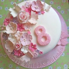 Host Girl's Ballet Birthday Party!-maybe could do the flowers and #8 with reg frosting under