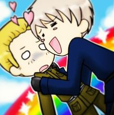Germany and Prussia - Hetalia