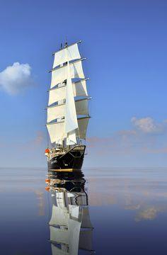 Running on Waves - Tall Ship