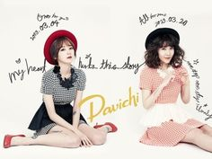 "Davichi want to ""Take a Drink Together"" on 'Music Bank'!"