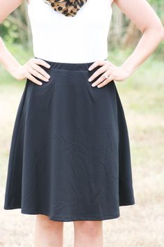 The Hepburn Skirt