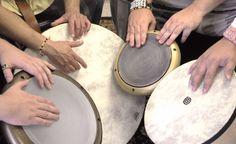 hand drums... joy in rhythms together...