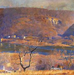 Daniel Garber: Over at Byram — Bucks County Artists — James A. Michener Art Museum