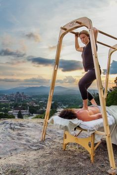 Diy ashiatsu bars - Google Search