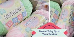 Bernat Baby Sport Yarn Review