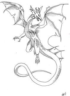dragon_tattoo_by_ocean_crystal-d4ovhx2.jpg (761×1049)