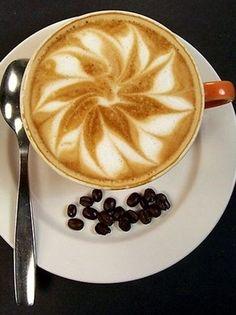 Beautiful Coffee Art ..