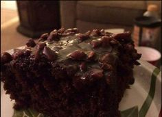 Susan Recipe: Chocolate Fudge Cake