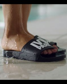 We NEED these flip flops from Beyonce's IVY PARK