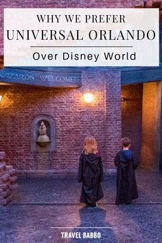 Find out why our family prefers visiting Universal Orlando over Disney World; all the pros and cons, the dos and don'ts and everything in between. Decide with your family what is the best park to visit as we present to you our insider experience. All that will be left to do, is to pack and travel. Check out our post and see for yourself! #familytraveluniversalorlando #usafamilytravel #familytraveladventures #familywanderlust #travelflorida
