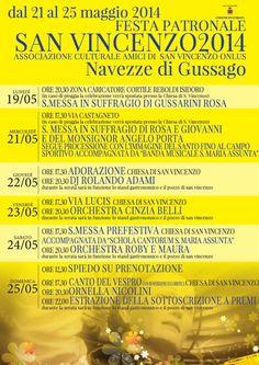 Navezze: dal 21 al 25 maggio la festa patronale di San Vincenzo - http://www.gussagonews.it/festa-patronale-san-vincenzo-2014-navezze-maggio/