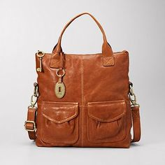 #Fossil $168 Modern Cargo Convertible Tote