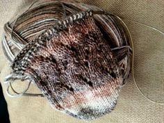 Hvordan strikke sokker med tåa først!