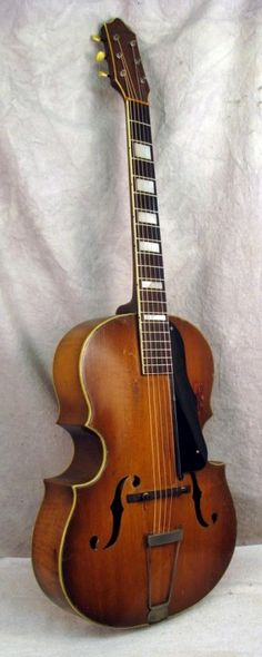 Sovereign Cello Archtop Guitar ~ https://www.pinterest.com/lardyfatboy/ ~