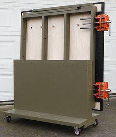 Fold Flat workbench
