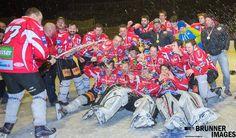 Der UEC-Lienz kürte sich heute in Huben i. O. im Finalspiel gegen das Farmteam Huben zum Meister der KL Division II - WEST des KEHV! KEHV - Kärntner Eishockeyverband UEC Lienz - die Eislöwen #brunnerimages