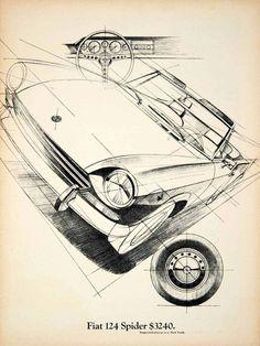1969 Fiat 124 Spider