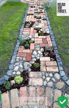 42 Amazing DIY Garden Path and Walkways Ideas collecting of interesting and creative garden path design ideas provides great inspirations for improving yard landscaping and garden design Path Design, Landscape Design, Design Ideas, Landscape Plans, Garden Paths, Garden Art, Hill Garden, Amazing Gardens, Beautiful Gardens