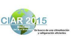 Caloryfrio.com será media partner oficial del Congreso CIAR 2015 sobre #climatización y #refrigeración eficiente