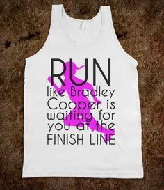 Run like Bradley Cooper