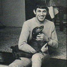Leonard Nemoy: Dachshund lover