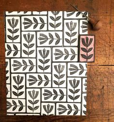 Art + Life by Julie Fei-Fan Balzer - tutorials, stories, beautiful things, projects, and fun! Stamp Printing, Printing On Fabric, Screen Printing, Diy Tapete, Stamp Carving, Fabric Stamping, Handmade Stamps, Art Graphique, Tampons