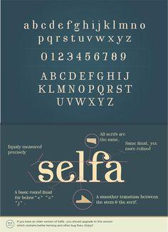 Selfa – A Free Serif Font by Mazefall