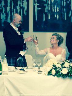 Apex wedding  Father of the bride speech toast