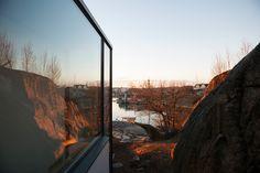 SALTVERKSVEIEN landscape reflected