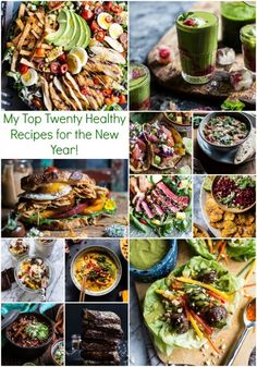 My Top Twenty Healthy Recipes for the New Year. Healthy and delicious...not boring! From halfbakedharvest.com