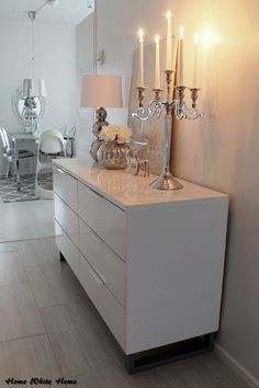 Home White Home: The luxurious (and inexpensive) candelabra JYSK