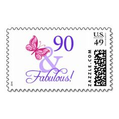 ==> reviews          90 And Fabulous Birthday Postage Stamps           90 And Fabulous Birthday Postage Stamps we are given they also recommend where is the best to buyDeals          90 And Fabulous Birthday Postage Stamps Online Secure Check out Quick and Easy...Cleck Hot Deals >>> http://www.zazzle.com/90_and_fabulous_birthday_postage_stamps-172365741201866337?rf=238627982471231924&zbar=1&tc=terrest