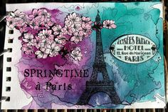 Romana's Sunny Creation: Best of my art journal pages and cards till 12.12.2015