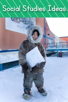 SUPER COOL site that shows images of kids going to school around the world. Pinned image is of Inuit boy attending traditional school near Arctic circle. http://www.samsam.net/item/8/schoolse-zaken-wereldwijd