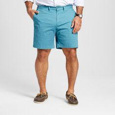 Men's Big & Tall Club Shorts 8 Turquoise 58 - Merona
