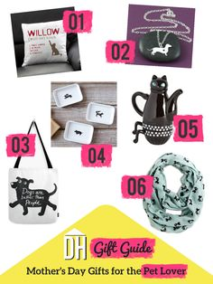 Mother's Day Gift Ideas: Gifts for Pet Lovers >> http://blog.hgtv.com/design/2015/05/06/mothers-day-gift-ideas-for-the-pet-lover/?soc=Pinterest