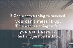 Rest in the fact that it's God's job to guide you, it's your job to seek Him and follow. Don't stress, give yourself permission to trust in the Lord.