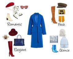 """Blue coat"" by lamicinna on Polyvore featuring мода, Balenciaga, Current Mood, Sam Edelman, Fivestory, Moschino, Chloé, Alexander McQueen, Victoria Beckham и Mudd"