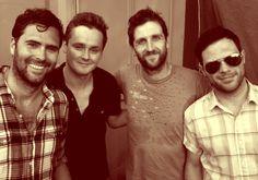 Keane: Tim Rice-Oxley, Tom Chaplin, Richard Hughes & Jesse Quin.